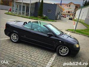 Opel Astra g bertone coupe cabrio softtop soft top neagra impecabila  - imagine 4