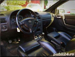 Opel Astra g bertone coupe cabrio softtop soft top neagra impecabila  - imagine 8