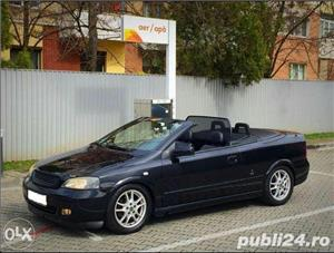Opel Astra g bertone coupe cabrio softtop soft top neagra impecabila  - imagine 5