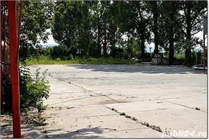 Hale, platforma betonata, birouri, DN 13 Feldioara. - imagine 2