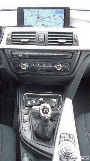 BMW 320d | 4 usi | 16″ | Navi | Senzori parcare | Radio CD | Clima | 2013 - imagine 9