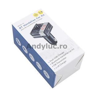 Bluetooth Handsfree Car Kit - imagine 1