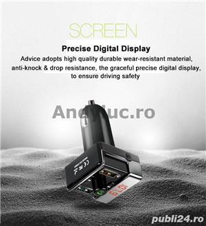 Bluetooth Handsfree Car Kit - imagine 8