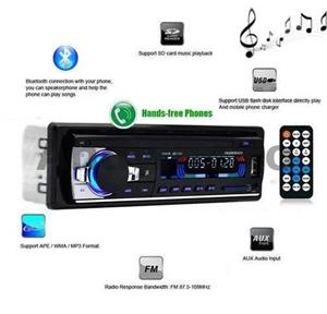 Casetofon / Radio Auto Bluetooth si HandsFree 12V - imagine 2