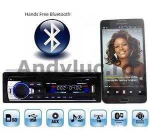 Casetofon / Radio Auto Bluetooth si HandsFree 12V - imagine 1