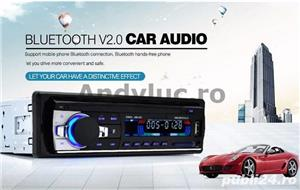 Casetofon / Radio Auto Bluetooth si HandsFree 12V - imagine 7