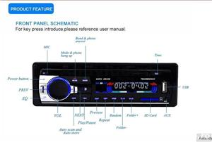 Casetofon / Radio Auto Bluetooth si HandsFree 12V - imagine 6