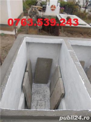 Constructii cavouri cripte IEFTINE din beton armat mozaic granit marmura - imagine 2