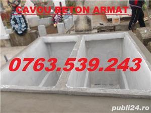 Constructii cavouri cripte IEFTINE din beton armat mozaic granit marmura - imagine 3