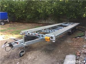 Inchiriez platforma auto transport doua autoturisme 8m si8,5m - imagine 7