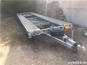 Inchiriez platforma auto transport doua autoturisme 8m si8,5m - imagine 4