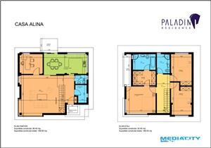 5.000 Euro Discount la vila complet personalizata in complex Paladin Residence Corbeanca - imagine 4