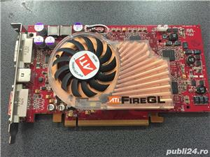 Placa Video ATI FireGL V5100 128MB, PCI-e, 2x DVI - imagine 1