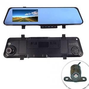 Oglinda auto cu display si 2 camere video FHD - imagine 3