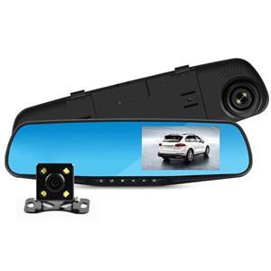 Oglinda auto cu display si 2 camere video FHD - imagine 2