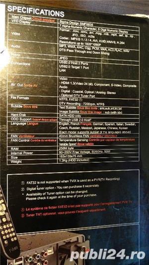 Multimedia Player 1080p FullHD TViX M6500A + Tuner DVB-T + HDD 750Gb Seagate  - imagine 7