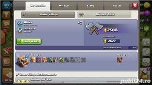 Vand cont de Clash Royal+Clash Of Clans la pachet - imagine 1