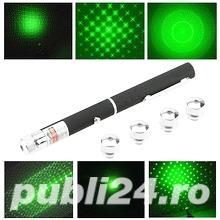Laser verde 1 cap 3D bar club disco - imagine 2