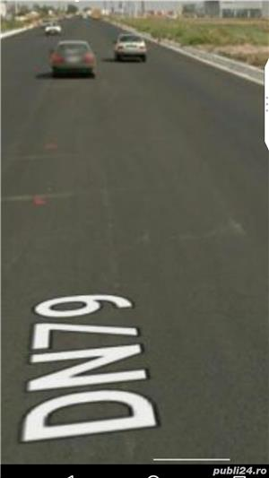 Teren pasune pe DN79 7.50 euro mp - imagine 1