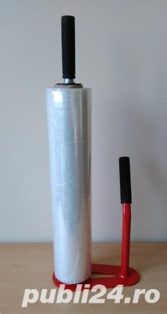 Dispenser folie stretch metalic + livrare gratuita - imagine 3