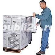 Dispenser folie stretch metalic + livrare gratuita - imagine 5