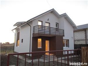 FARA COMISIOANE casa cu 4 camere si 2 bai P+1+pod terasa si camera tehnica cu finisaje LA ASFALT  - imagine 1
