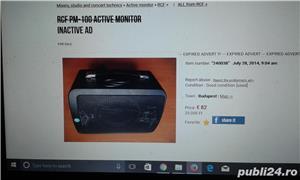 boxa activa 500w cu intrare auxiliar laptop, mobil, cd,ipod, etc ideal pentru sonorizari evenimente - imagine 5