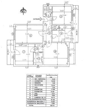 (201) Apartament 4 camere, Gavana 3, fond nou cu garaj  - imagine 2