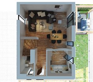 Casa de Vis in Complex cu Piscina - imagine 3
