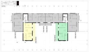 Dezvoltator apartam 3 cam intabulat 48+11 mp la alb Calea Cisnadiei - imagine 4