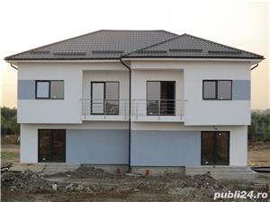 FARA COMISIOANE case cu 4 camere P+1+pod terasa 2 balcoane 2 placi 3 bai canalizare drum betonat - imagine 1