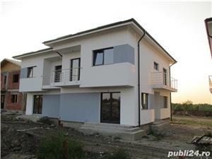 FARA COMISIOANE case cu 4 camere P+1+pod terasa 2 balcoane 2 placi 3 bai canalizare drum betonat - imagine 2