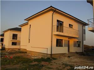 FARA COMISIOANE case cu 4 camere P+1+pod terasa 2 balcoane 2 placi 3 bai canalizare drum betonat - imagine 3