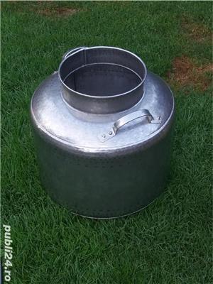 Cazan inox alimentar  cu garantie  - imagine 3
