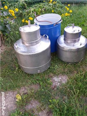 Cazan inox alimentar  cu garantie  - imagine 4
