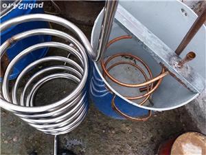Cazan inox alimentar  cu garantie  - imagine 6