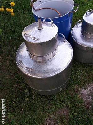 Cazan inox alimentar  cu garantie  - imagine 7