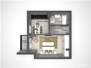 Direct Dezvoltator , Apartament 1 camera, COPOU Comision 0% - imagine 5