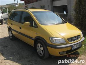 Opel Zafira vand sau schimb cu 4x4 - imagine 1