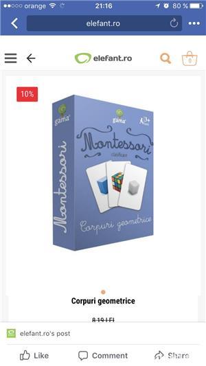 Carduri/carti montessori - imagine 5