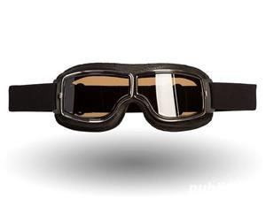 Ochelari de protectie Moto , Chopper , Cafe Racer , Retro  - imagine 4