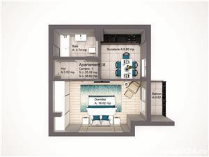 Direct Dezvoltator , Apartament 1 camera, COPOU Comision 0% - imagine 3