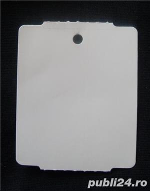 Etichete carton pentru pret sau alte informatii despre produs - imagine 1