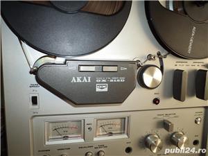 Magnetofon Akai model 215D argintiu - imagine 2