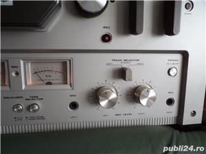 Magnetofon Akai model 215D argintiu - imagine 5