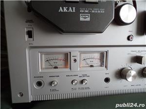 Magnetofon Akai model 215D argintiu - imagine 6