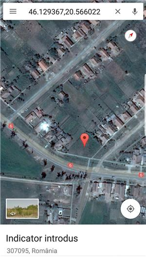 Proprietar Vand / Schimb / inchiriez Teren 1460 mp cu Nr. de Casa  in Cenad pe soseaua principala ! - imagine 3