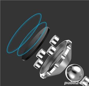 Suport magnetic universal pentru telefon mobil, tableta, GPS, iPhone - imagine 4