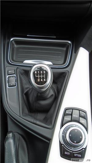 BMW 318d   Touring   2.0d   MT6   16″   Navi   Senzori parcare   Radio CD   Tempomat   AC   2014 - imagine 10