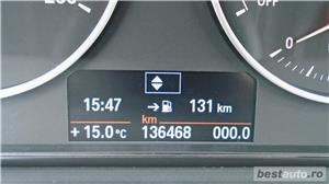 BMW 318d | Touring | 2.0d | MT6 | 16″ | Navi | Senzori parcare | Radio CD | Tempomat | AC | 2014 - imagine 16